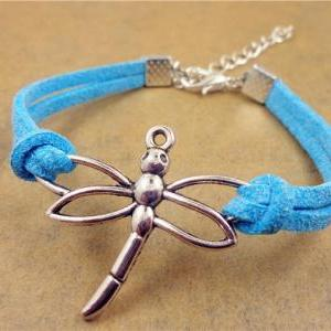 Dragonfly Bracelet, Friendship Brac..