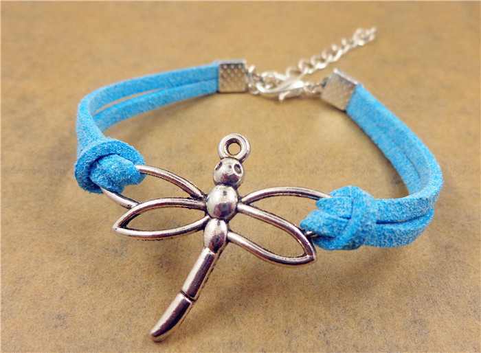Dragonfly Bracelet, Friendship Bracelet, Birthday Gift, Christmas Gift